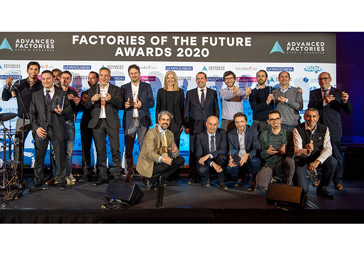 foto Advanced Factories premia la innovación en la industria con los Factories of the Future Awards 2021.